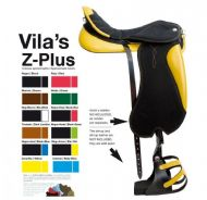 Vila's endurance saddle in Z-Plus by Zaldi
